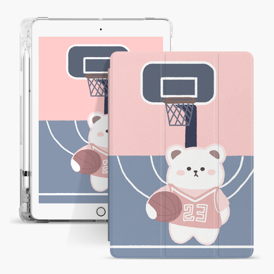 Air Sac Cartoon Kids individuell bedruckte Hülle für Apple iPad 9.7 5. 6. Generation Cover